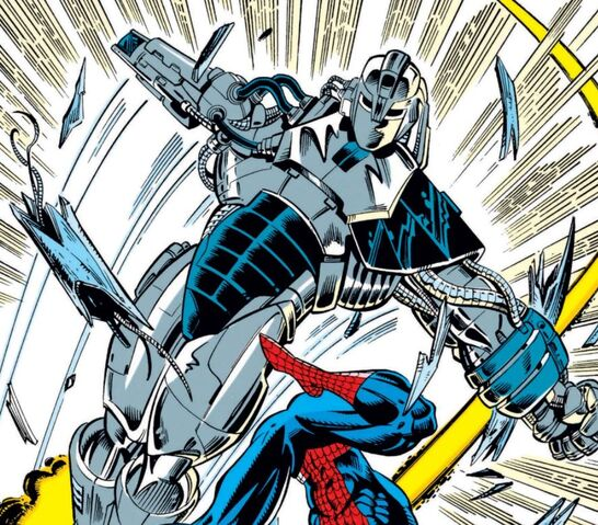 File:Spider-Slayer Mark XII from Amazing Spider-Man Vol 1 369 001.jpg
