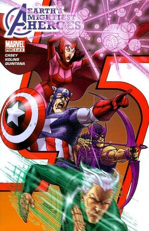 Avengers Earth's Mightiest Heroes Vol 1 8