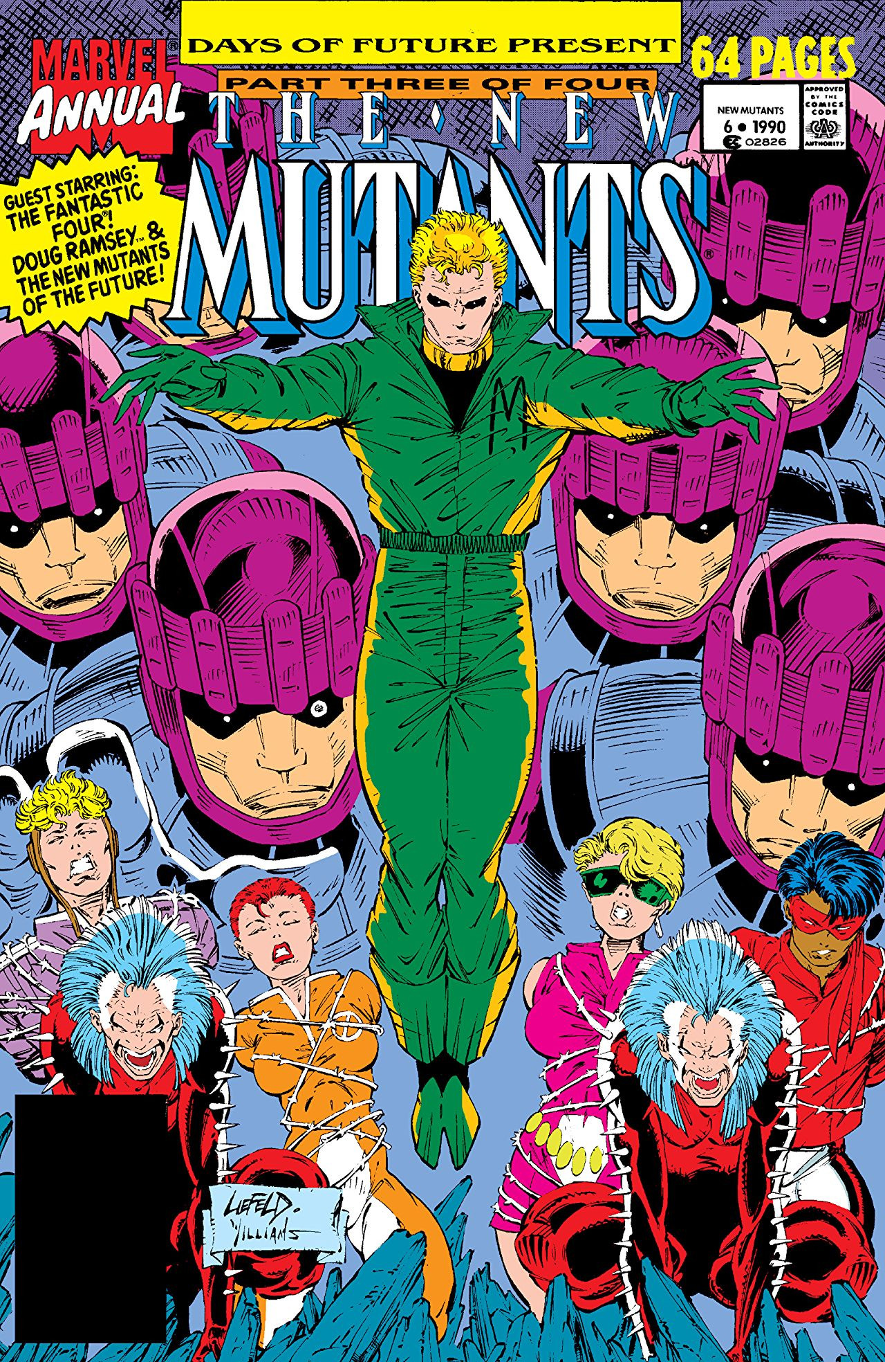 New Mutants Annual Vol 1 6