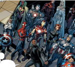 Avengers (Earth-61610) from Ultimate End Vol 1 3 0001