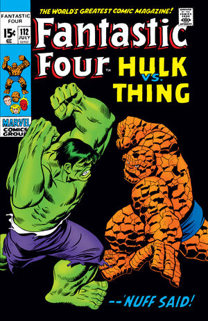 Fantastic Four Vol 1 112