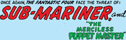 Fantastic Four Vol 1 14 Title