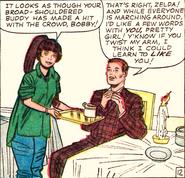 Zelda Kurtzberg (Earth-616) and Robert Drake (Earth-616) from X-Men Vol 1 7 0001
