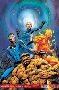 Fantastic Four The End Vol 1 6 Textless