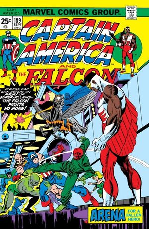 Captain America Vol 1 189