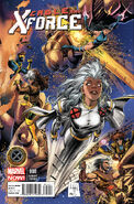 Cable and X-Force Vol 1 8 X-Men 50th Anniversary Variant