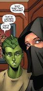Sooraya Qadir (Earth-616) and Victor Borkowski (Earth-616) from New X-Men Vol 2 32 0001