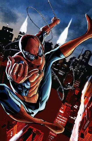 File:Amazing Spider-Man Vol 3 1 Mhan Variant Textless.jpg