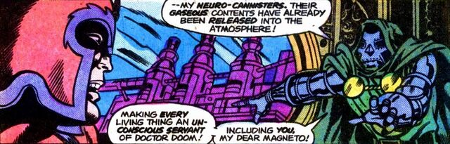 File:Doctor Doom's Armor, Max Eisenhardt (Earth-616), Neuro-Gas, Victor von Doom (Earth-616) from Super-Villain Team-Up Vol 1 14.jpg