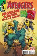 Avengers Vol 5 24.NOW X-Men as Avengers Scioli Variant