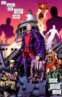 Mutant Monarchy (Earth-12245) from Astonishing X-Men Vol 3 45 001