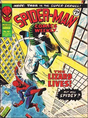 Spider-Man Comics Weekly Vol 1 92