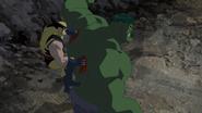 James Howlett and Bruce Banner (Earth-8096) from Hulk Vs. (film) 0001