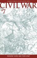 Civil War Vol 1 7 Sketch Variant