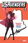U.S.Avengers Vol 1 1 Maine Variant