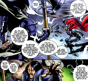 Thor Odinson (Earth-616) and Cul Borson (Earth-616) from Fear Itself Vol 1 4.png