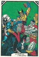 X-Men (Earth-616) from Arthur Adams Trading Card Set 0002