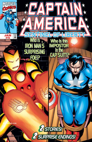 Captain America Sentinel of Liberty Vol 1 5