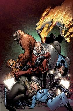 Fantastic Four Foes Vol 1 5 Textless