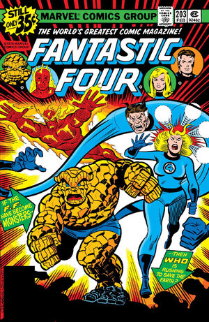 Fantastic Four Vol 1 203