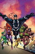 Inhumans Prime Vol 1 1 Kirby 100th Anniversary Variant Textless