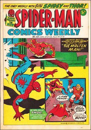 Spider-Man Comics Weekly Vol 1 22