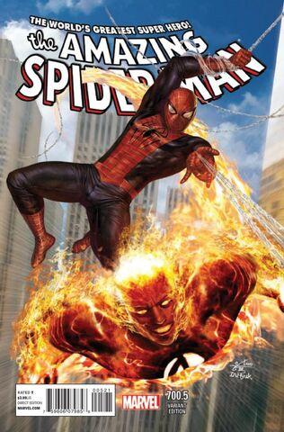 File:Amazing Spider-Man Vol 1 700.5 In Hyuk Lee Variant.jpg