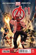 Avengers Vol 5 1 Deadpool Variant
