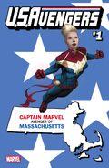 U.S.Avengers Vol 1 1 Massachusetts Variant