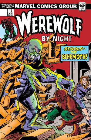 Werewolf by Night Vol 1 17