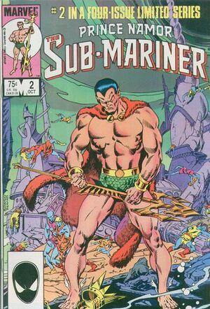 Prince Namor the Sub-Mariner Vol 1 2