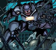 Sentinels (Earth-616) Mark X from Cable and X-Force Vol 1 15