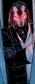 Wilhelm Van Vile (Earth-616) as Morlun in an illusion from Avenging Spider-Man Vol 1 13 001