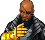 Nicholas Fury (Earth-TRN562) from Marvel Avengers Academy 005