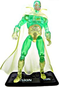 Vision (Earth-616) from Marvel Universe (Toys) Series II Wave VI 0002