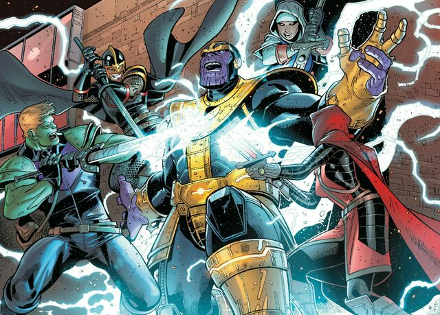 File:A.V.E.N.G.E.R.S. Initiative (Earth-15061) vs. Thanos (Earth-15061) from U.S.Avengers Vol 1 2 001.jpg