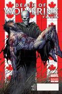 Death of Wolverine Vol 1 4 Canada Variant