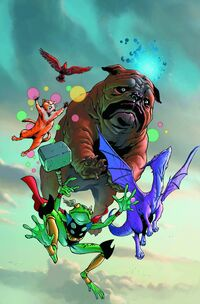 Lockjaw and the Pet Avengers Vol 1 1 Textless