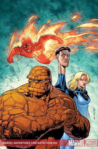 File:Marvel Adventures Fantastic Four Vol 1 43 Textless.jpg
