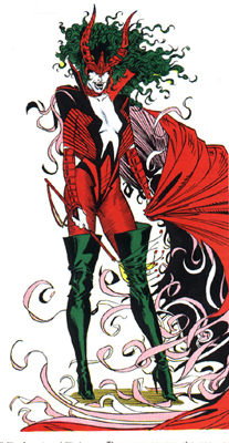 Dreamqueen (Earth-616) from Official Handbook of the Marvel Universe Vol 3 2 001