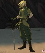 Fandral (Earth-8096) from Thor Tales of Asgard 001