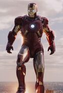 Anthony Stark (Earth-199999) with Iron Man Armor MK VII (Earth-199999) from Marvel's The Avengers 002 (cut)