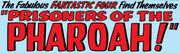 Fantastic Four Vol 1 19 Title