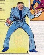 Official Handbook of the Marvel Universe Vol 2 4 page 31 Willard Harrison (Earth-616)