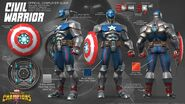 Marvel Contest of Champions Civil Warrior Official Cosplayer Guide