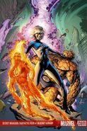 Secret Invasion Fantastic Four Vol 1 1 Textless