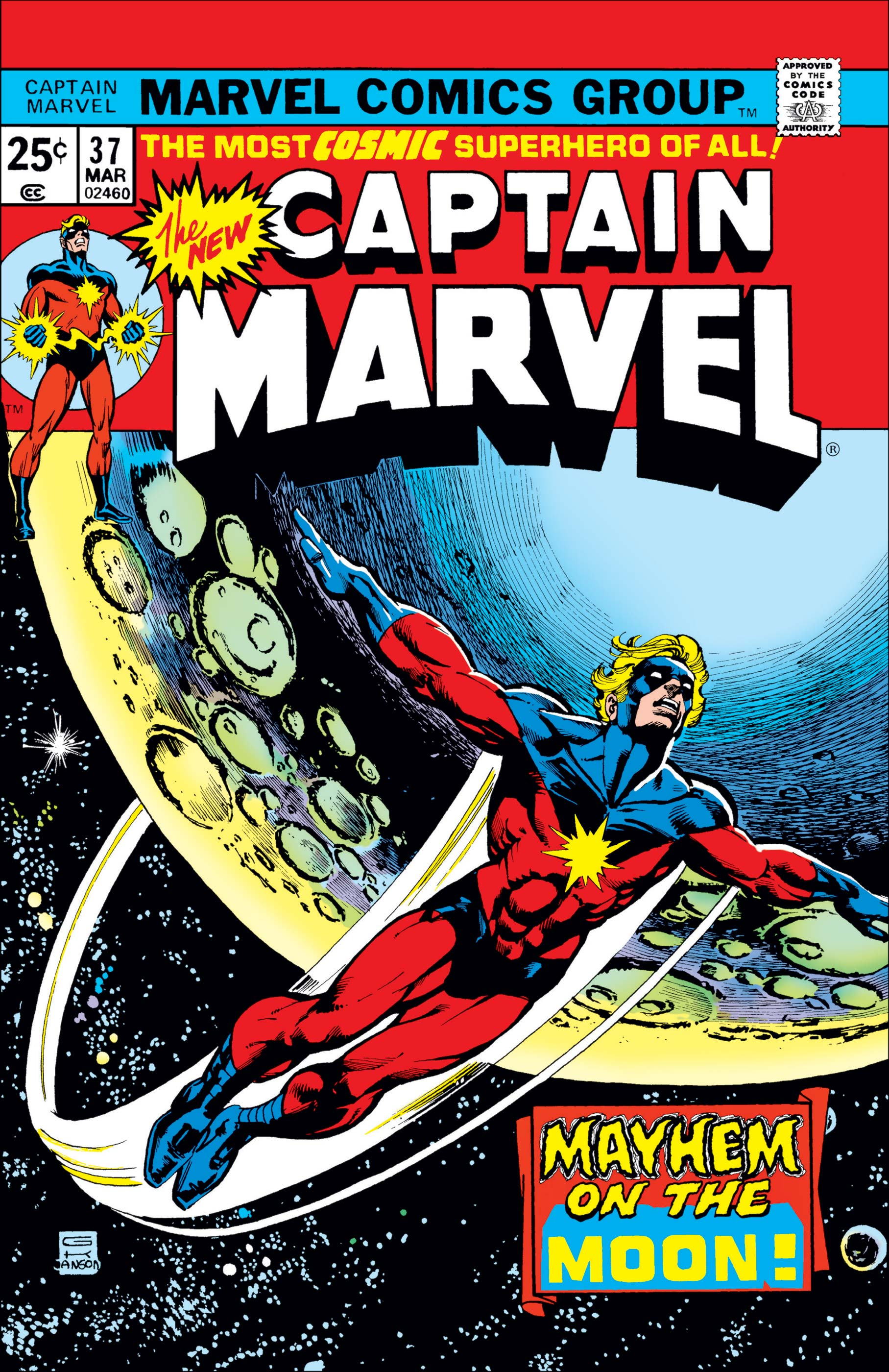 Captain Marvel Vol 1 37 Marvel Database Fandom Powered