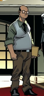 Harris (White House staff) Ultimate X-Men Vol 1 3