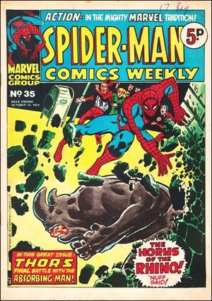 Spider-Man Comics Weekly Vol 1 35