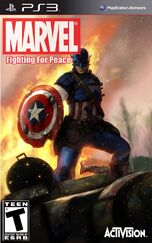 Marvel- Fighting For Peace (Captain America Cover)